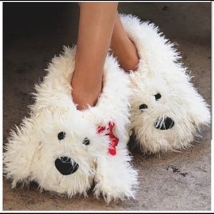 Cozy and Cute Puppy Slippers